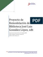 Proyecto de Remodelación de La Biblioteca José