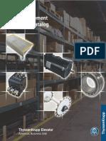 TKE Parts 2008 Manual