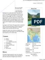 Bhakra Dam - Wikipedia, The Free Encyclopedia