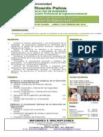 Brochure Diplomado de Operaciones 2016