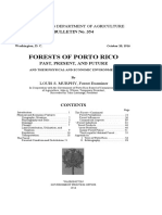 Forests of Puerto Rico, 1916