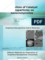 Deposition of Catalyst Nanoparticles on Nanocomposites