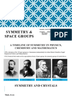 Symmetry & Space Groups