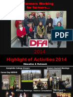 2014 dfa a year in review