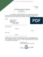 Second Circuit dismissal by judges Ralph K. Winter, Reena Raggi, Christopher F. Droney.