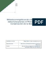 Des.métodos Energéticos_Principio de Conservación de La Energía