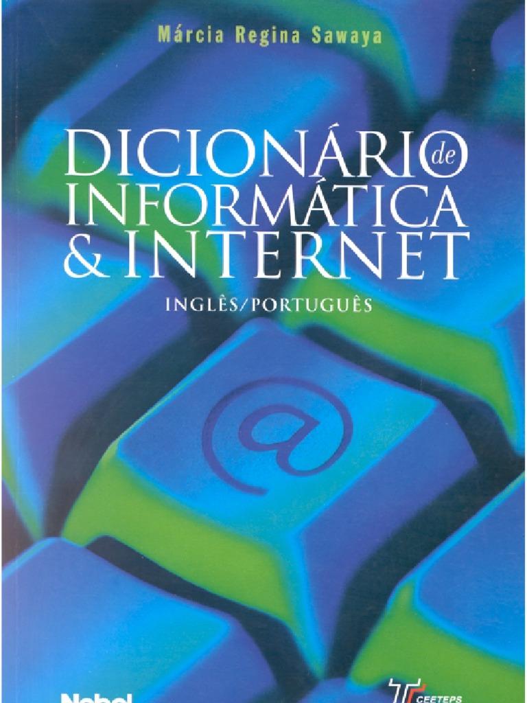 3b7ca1fad7fa Informática - Dicionário Internet