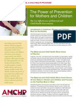 AMCHP Power of Prevention 5-8