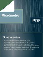 El Micrómetro