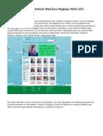 hacer diseño webArticle   Diseño Paginas Web (35)