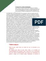 Clasificación de Valores Propios MORAL Y ETICA