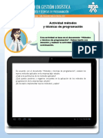 10 Actividad Metodos y Tecnicas de Programacion