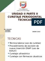 Curetaje Periodontal