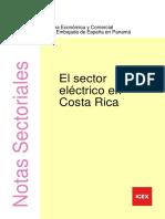 El Sector Eléctrico en Costa Rica