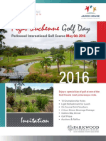 FDF Golf Day 2016 Parkwood International