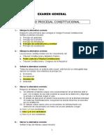 Examen - Derecho Procesal Peruano