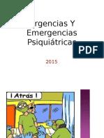 Urgencias y Emergencias Psiquitricas