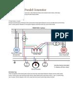 1.Sinkronisasi Paralel Generator