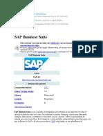 SAP Business Suite