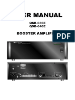 PA System Manual Qsb-636e 648e