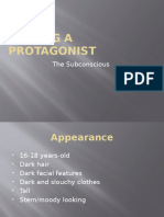Finding a Protagonist