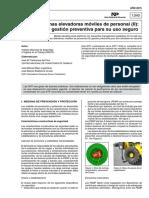 Prevencion 2 en Plataformas Elevadoras Ntp 1040_2015
