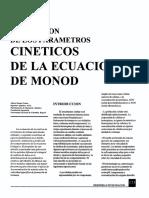 Parametros cinéticos.