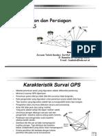 Perencanaan Dan Persiapan Survei GPS (2)