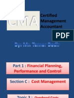 CMA - Overhead Costs