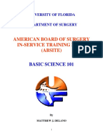 ABSITE Review Basic Science Session 5