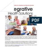 Integrative Healthcare Solution for Schizophrenic and Depressive Disorders