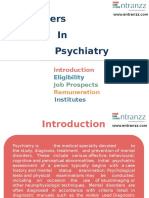 Careers in Psychiatry