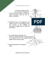 Examen de Vectores y Estatica Ing Industrial