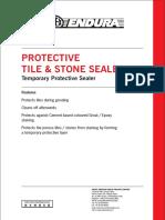 Protective Tile & Stone Sealer
