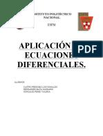 Ecuaciones -Diferencial Aplicación