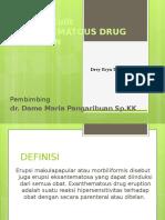 Jelajah Drug Eruption