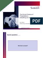 Art & Scince of Presentations-Guy Mason.pdf