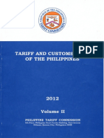 Tariff and Customs Code of the Philippines - Volume 2
