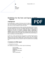Guidelines for Form and Layout