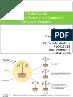 Fitopatologi Mekanisme Pertahanan Tanaman Terhadap Serangan Patogen (2)