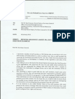 Reporting Misconduct against Mr Joan Clos,Executive Director Un Habitat