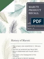 maruti-product-recall