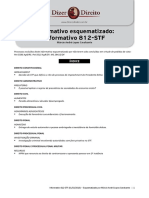 Informativo esquematizado 812 STF