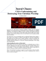 Choral Chaos - How CCM is Destroying Christian Worship