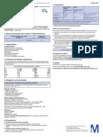 Test de Cloro Libre Rango de Medida 0,1 a 2,0 Mg.l