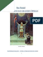 Mistérios Das Grandes Óperas - Max Heindel