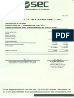 Parecer 2015 – Balanço 2013 . 2014 CPCD