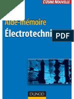 Aide-mémoire - Electrotechnique