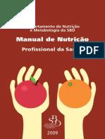 SBD 2009 Manual Nutrição