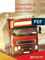 How To Prepare For A DOT Physical Exam